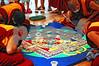 DSC_2058 Monks, mandala, onlookers
