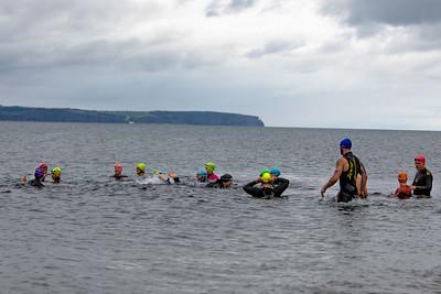 Tickle Swim Practice at Topsail Beach