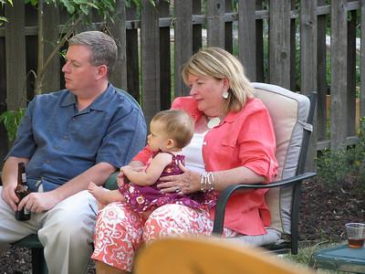 Chris, Mom and Baby Kate