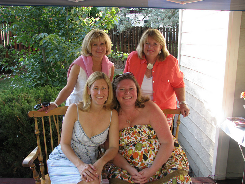Paulette, Tiff, Mom and Me (and Michael)
