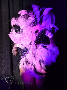 Ruby Champagne performing at Midnight at Tiki Oasis: Femme Fatale Follies - Burlesque show at Tiki Oasis on Friday night