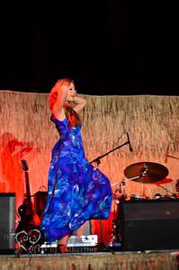 Retro Diva Fashion Show on the main stage at Tiki Oasis on Friday night. Violetta Beretta
