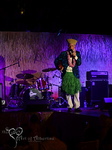 Retro Diva Fashion Show on the main stage at Tiki Oasis on Friday night. King Kukulele presenting.