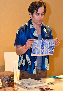 The Art of Stamping Symposium with artist Eric October on Friday.