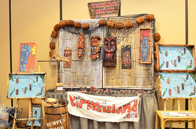 Tiki Oasis 3rd Annual Art Show and Artist Reception