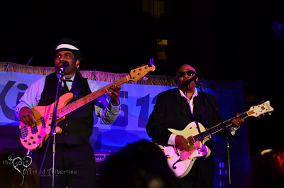 The Untouchables performing on the main stage at Tiki Oasis on Saturday.