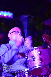 Tikiyaki Orchestra, performing at Tiki Oasis, 2012