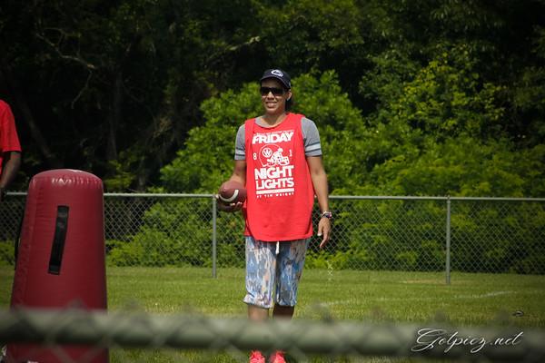 Tim Wright Football Camp 2015