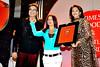 Rakhi Sawant with Deepa & Dr. Suhas Awchat of Viva Maharshtra.