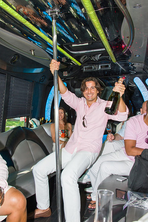"Yes the party bus did have a ""Stripper Pole"""