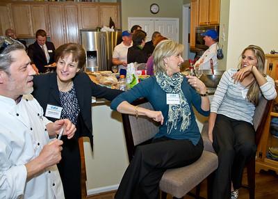 Tina Martin's VIP reception