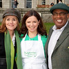 NBC Today Show hosts Merideth Viera and Al Roeker with Katherine Fulvio from Ballyknocken Cookery School in Glenealy