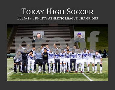Tokay High 2017 Soccer Team Photo with Title