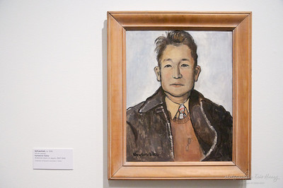 Tokita's self-portrait