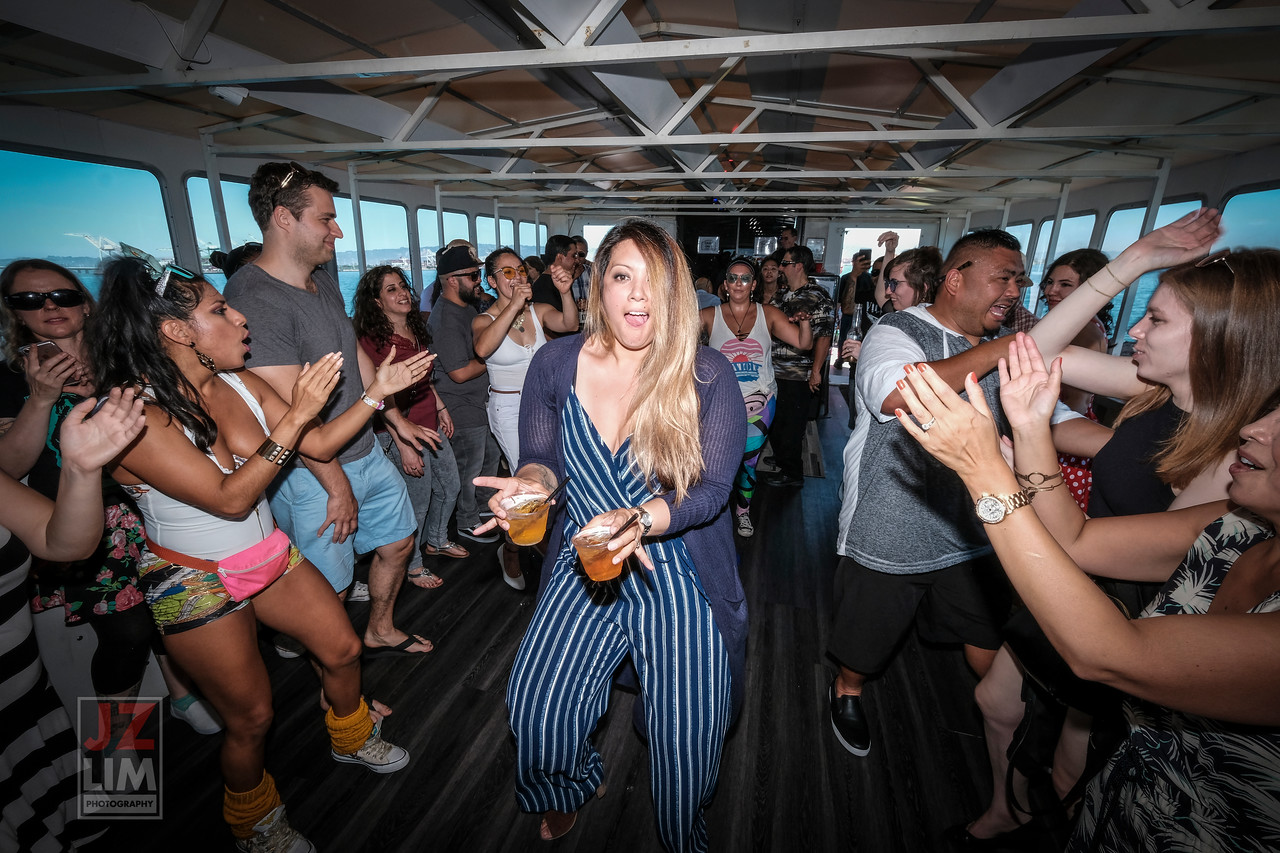 Tom Cruise 80's Boat Party 2017