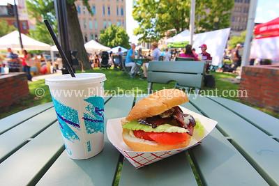 Easton Farmers' Market Tomato Day, Easton, PA 8/19/17