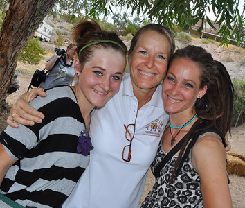3 Generations of Bledsoe in this photograph at Tomato and salsa festival in Quail Hollow Farm in Moapa, NV. To join Quail Hollow Farm CSA visit http://www.quailhollowfarmcsa.com/3.html