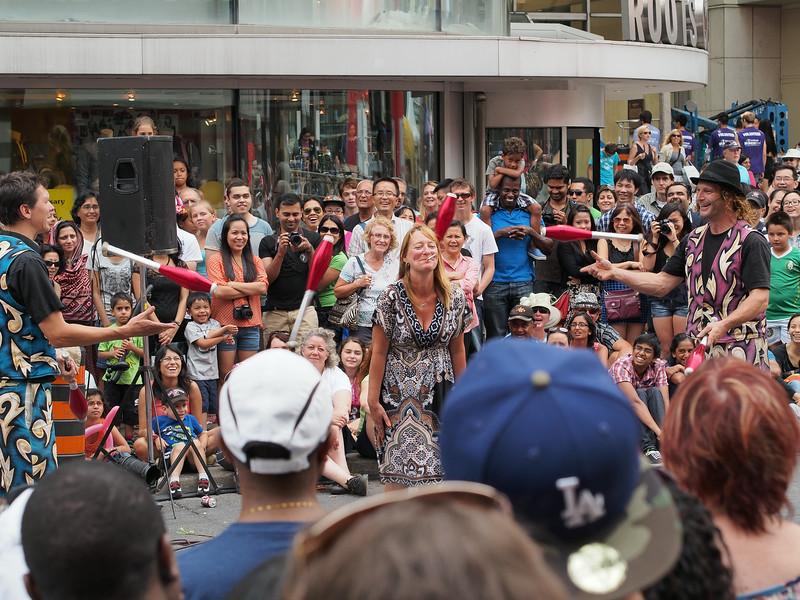 Aug. 25/13 - Buskerfest 2013, on Yonge Street