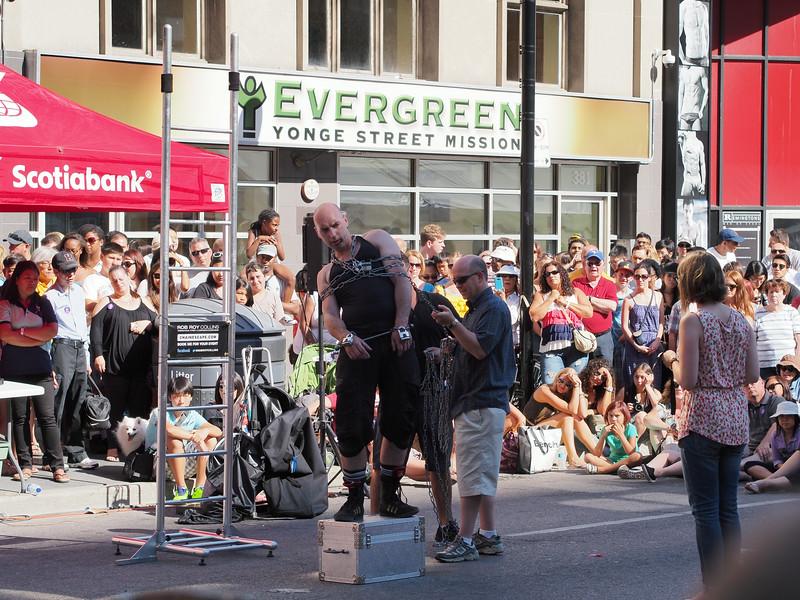 Aug. 24/13 - Buskerfest 2013, on Yonge Street