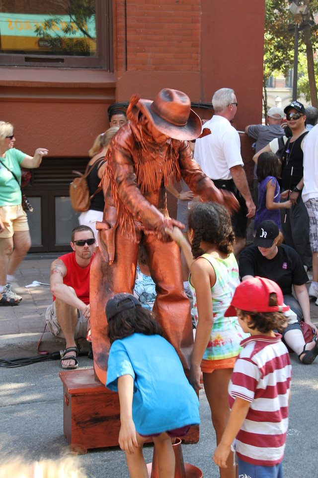 Aug. 25/12 - Buskerfest 2012, on Front Street