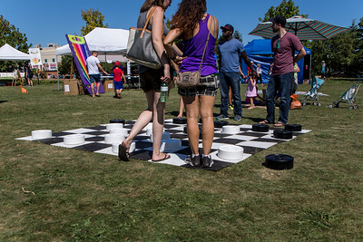 Life-Size Checkers Game