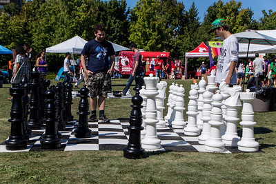 Life-Size Chess Game
