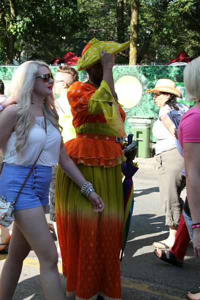 June 30/13 - Toronto Pride 2013 street scenes