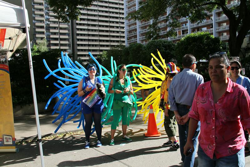 June 30/13 - Toronto Pride 2013 street scenes, Alexander St.