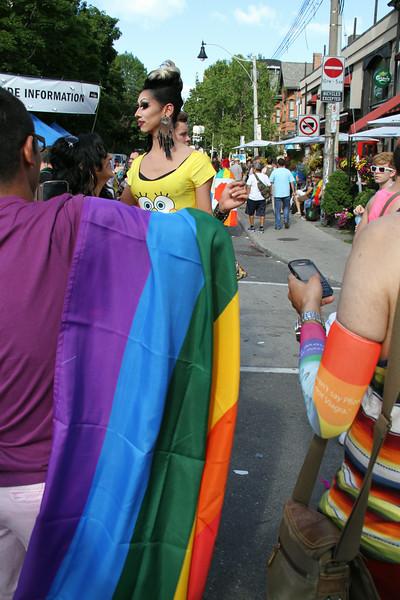 June 30/13 - Toronto Pride 2013 street scenes, Church & Maitland Sts.
