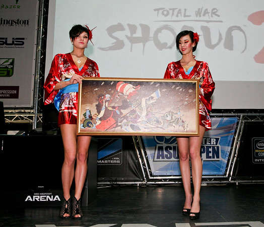 Total War: Shogun 2 launch in Kiev