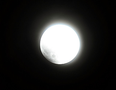 Total eclipse of the moon