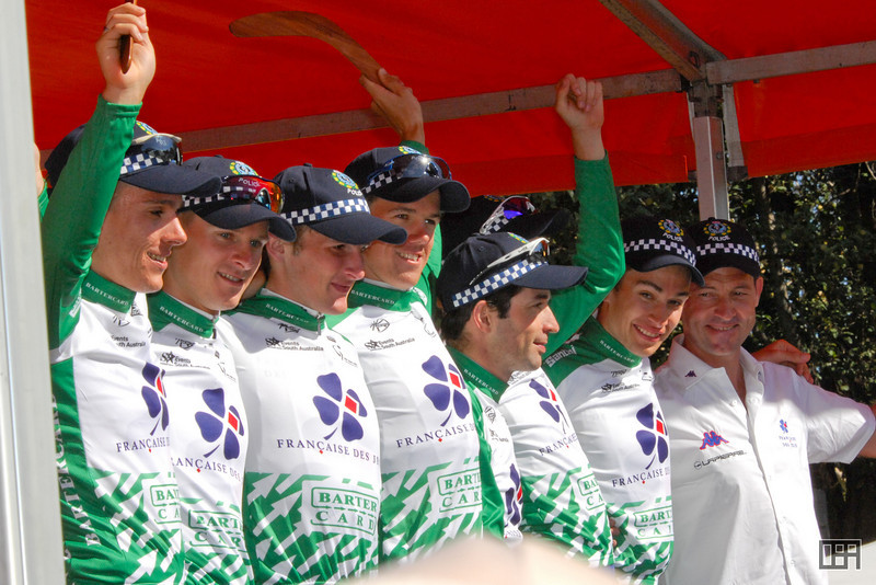 Team Francaise Des Jeux was the overall Winning Team