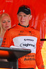 Andre Greipel (Ger), of Team High Road, wins Stage 6 and the Ochre Leader's Jersey