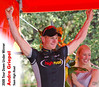 Andre Greipel (Ger), of Team High Road, wins Stage 6 of the Tour Down Under
