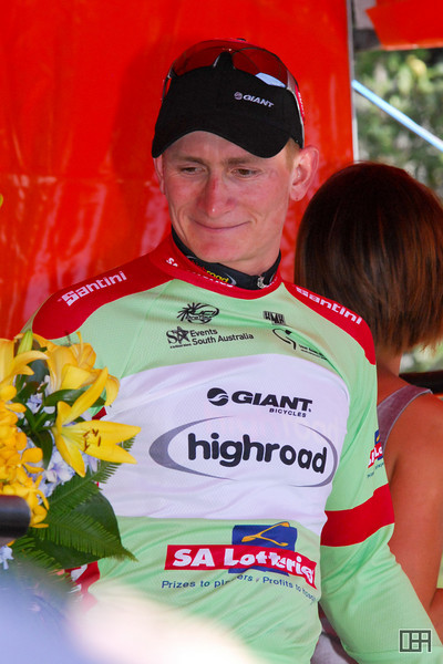 Andre Greipel (GER) of Team High Road won the Sprint Jersey