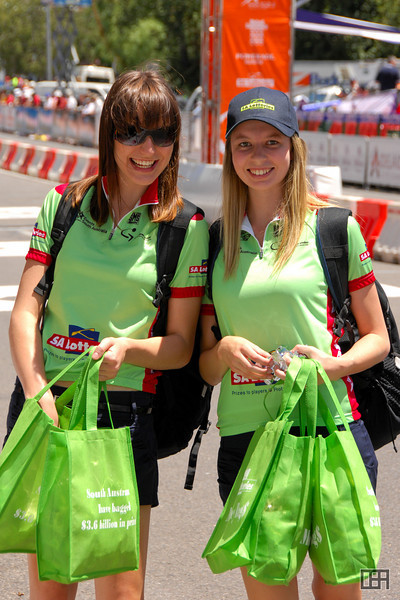 The SA Lotteries Girls