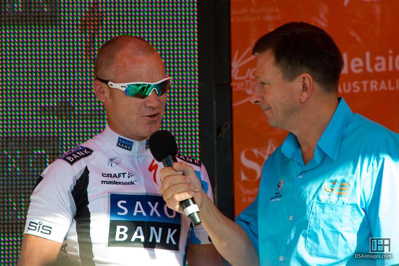 Stuart O'Grady of Team Saxo Bank