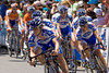Team work in the Tour Down Under 2009 - Stage 6 (Team Quick Step)