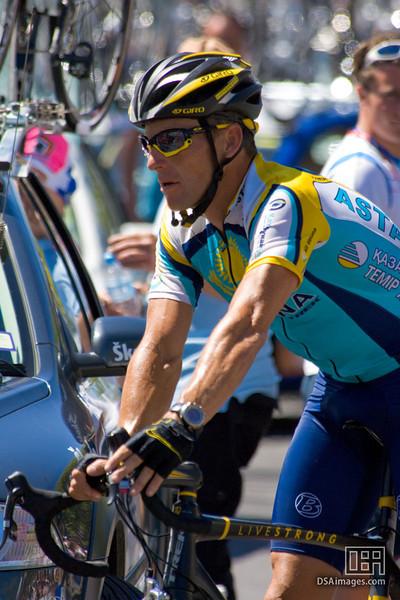 Lance Armstrong of Team Astana