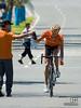 Refueling on the Tour Down Under 2009 - Stage 6 (Aitor Hernandez Gutierrez (Spa) of Team Euskaltel Euskadi)