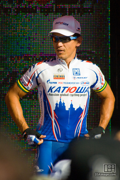 Robbie McEwen of Team Katusha, winner of the Cancer Council Classic 2009