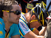 Lance Armstrong of Team Astana after the race