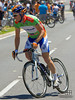 Graeme Brown (Aus) of Team Rabobank wearing the green Sprinter's jersey