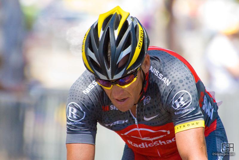 Lance Armstrong of Team RadioShack