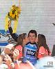 Winner of the Jayco Sprint jersey, Geraint Thomas, of team Sky Procycling