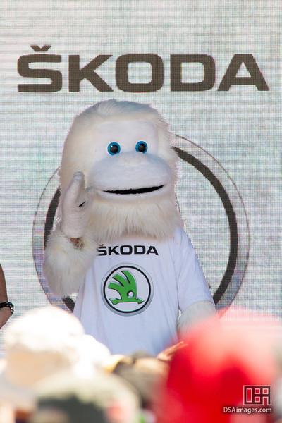 The Skoda yetti