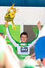 Winner of the Europcar Most Competitive Rider jersey, Geraint Thomas, of team Sky Procycling
