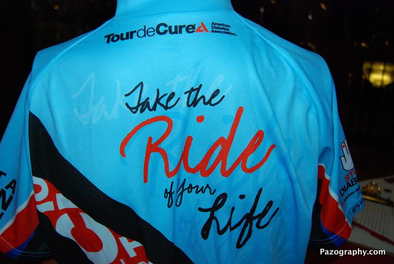 Tour de Cure Kickoff Jersey