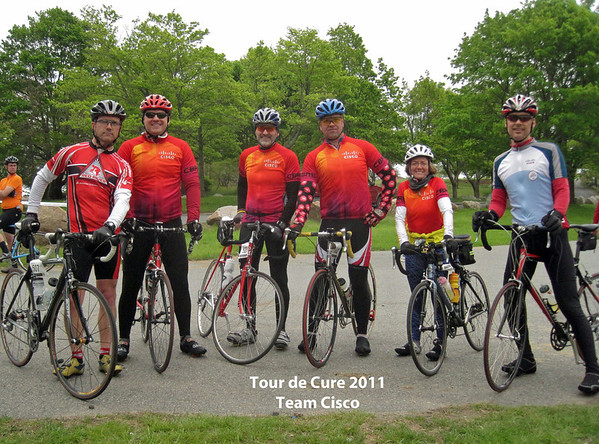 Tour de Cure North Shore 2011
