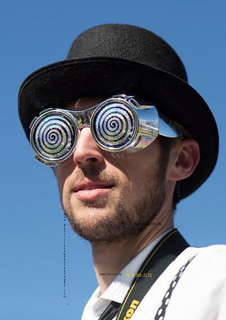 Wild glasses black hat 672